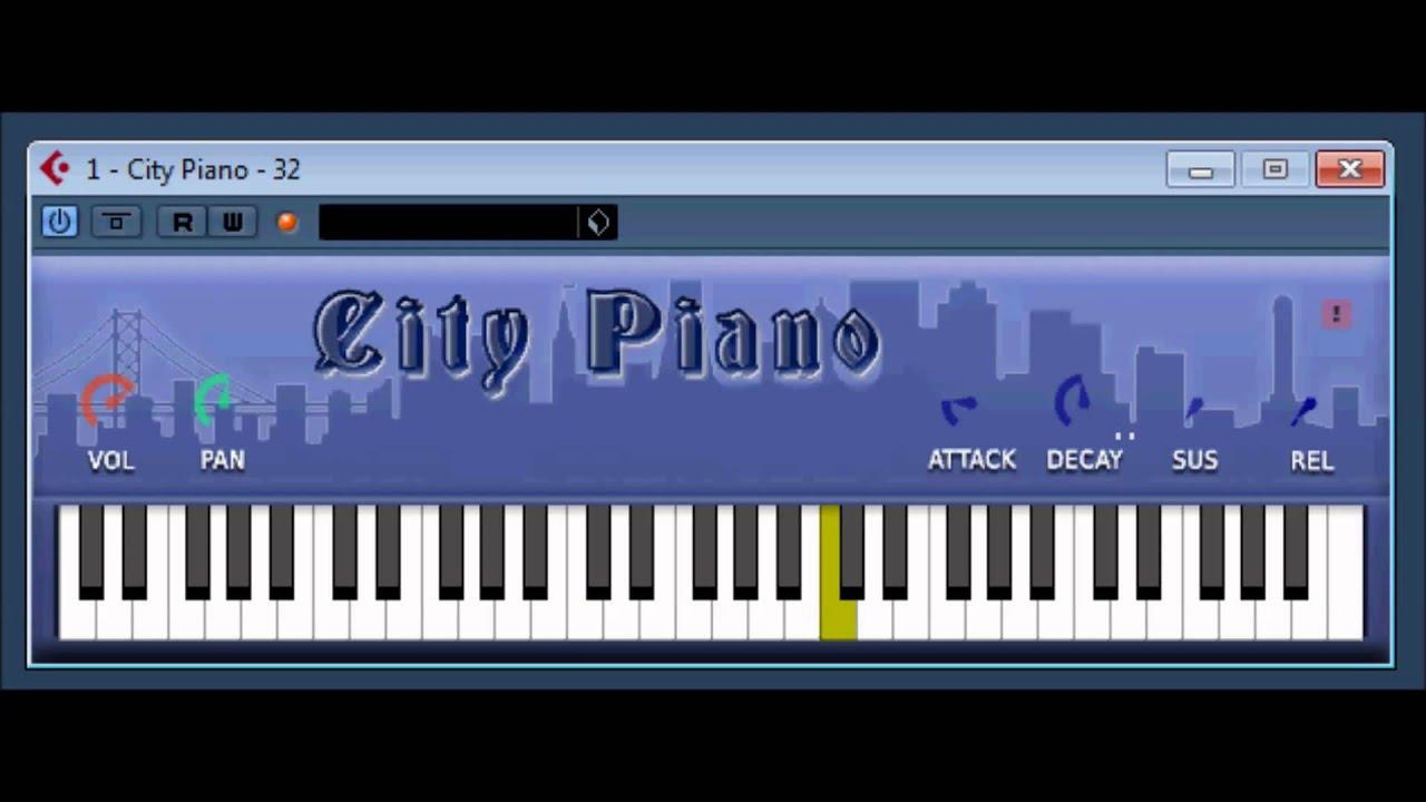 City Piano by bigcat Instruments - YouTube