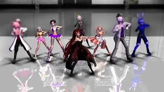 [ MMD - FNaF Sister Location] All gang! - Fallow the leader { Models download }