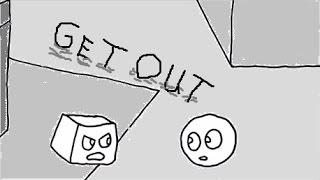 Animation von Kreisen und Quadraten von Bo Burnham