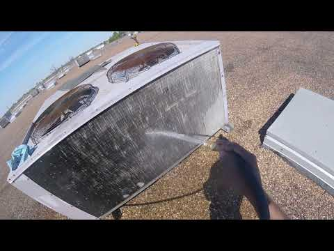 HVAC:Coil cleaning