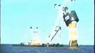 Leuchtturm Roter Sand - Rettungsaktion 1987