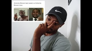 Reaction To : Whitlock and Wiley react to the Patriots releasing Antonio Brown   NFL