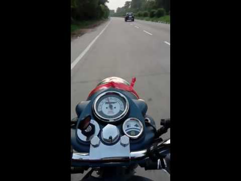 Pleasure of riding bullet