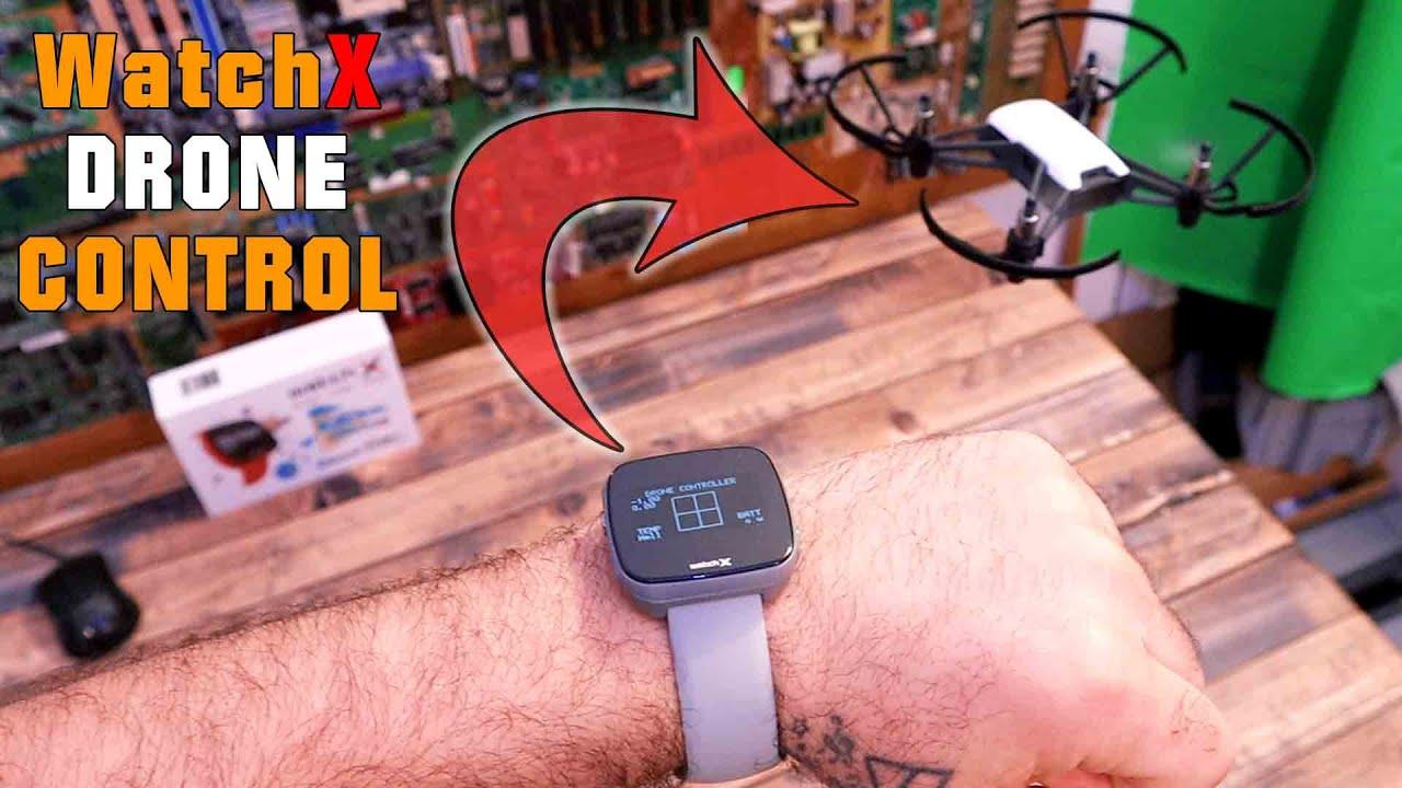 Drone Control With WatchX | Raspberry Pi WiFi \u0026 Bluetooth | Arduino \u0026 Python