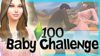 Let's Play The Sims 4 100 Baby Challenge! Pt 1. First WooHoo