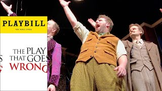 The Play That Goes Wrong Original Cast - Curtain Call 5/4/17