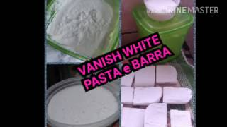 SABÃO VANISH WHITE PASTA SUPER POTENTE
