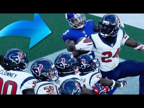 Can Odell Beckham Catch A Touchdown Over Eleven 99 Overall Corners! Madden 18 Challenge