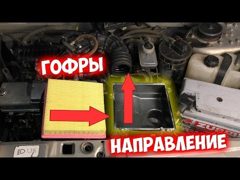 Мощность двигателя сразу увеличится после установки фильтра   Гаражные мифы