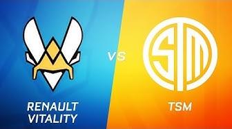Renault Vitality vs TSM | RLCS Season 9 | Week 3