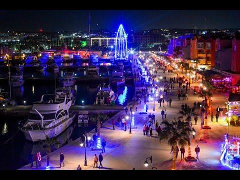 The delights of the #Hurghada, #Marina HD. فيديو رائع  مارينا الغردقة السياحية