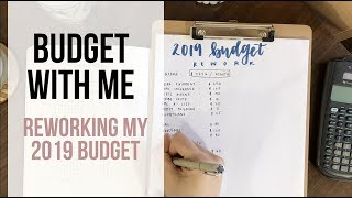 BUDGET WITH ME | my zero based budget for 2019 | Dave Ramsey inspired!