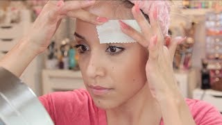 How I Wax My Eyebrows at Home (EASY)