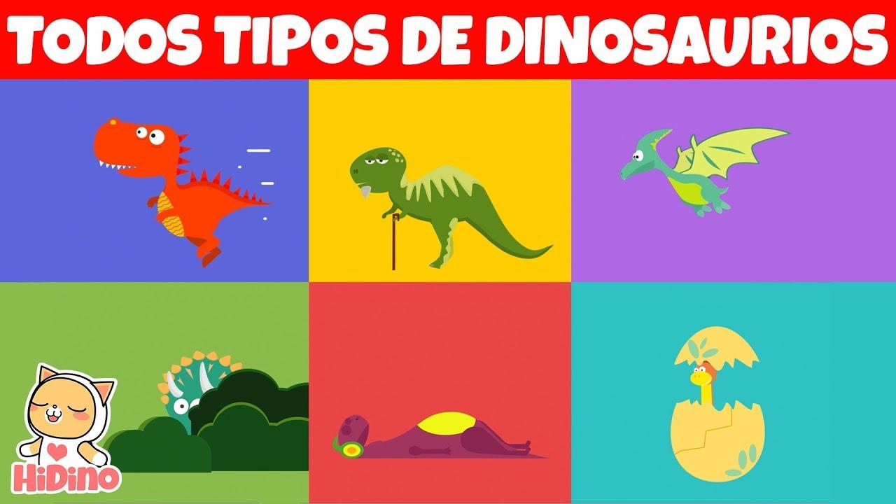 Todos Tipos De Dinosaurios Cancion De Dinosaurios Hidino Canciones Para Ninos Youtube sin_anuncios_b30anuncio_b30 id=1 cuando hablamos de los dinosaurios, lo hacemos de una manera tan general que parece que hubiera menos tipos y familias de las que realmente existieron. todos tipos de dinosaurios cancion de dinosaurios hidino canciones para ninos