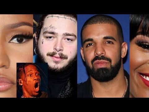 Nicki Minaj: Internet REACTS to Travis Scott shade, Post Malone Emergency, Drake, Azealia Banks