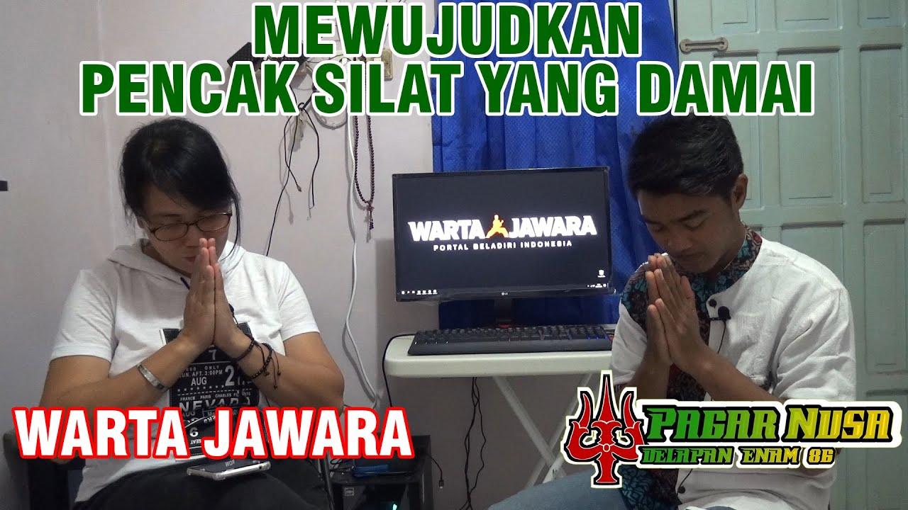BERSINERGI MEWUJUDKAN PENCAK SILAT YANG DAMAI    PAGAR NUSA 86 Feat WARTA JAWARA CHANNEL
