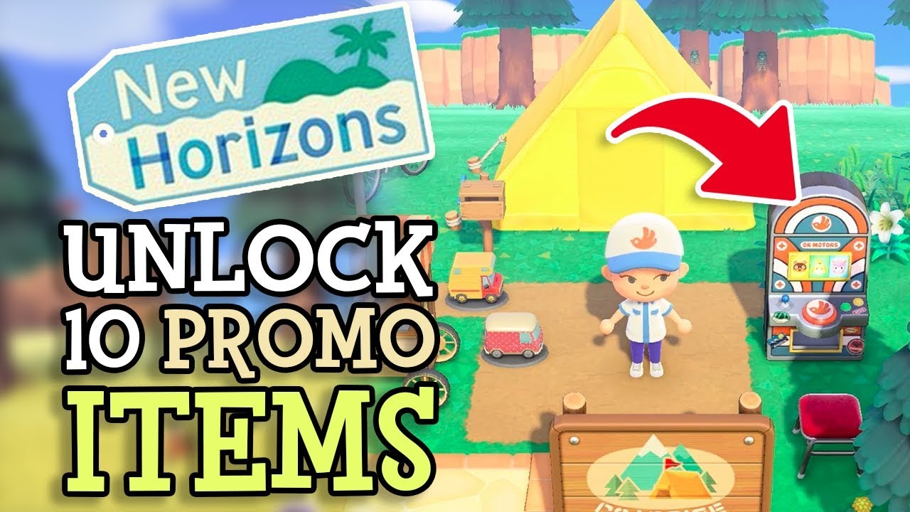 Animal Crossing New Horizons How To Unlock Exclusive Items
