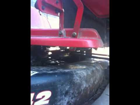 Troy Bilt Deck Belt Problem Youtube