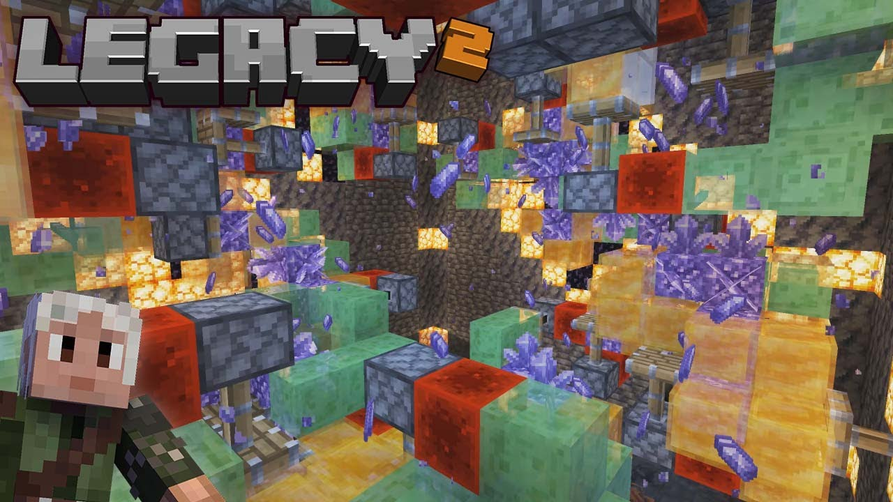 Amethyst, Copper and Trident Farm... and a Mystery on Legacy SMP