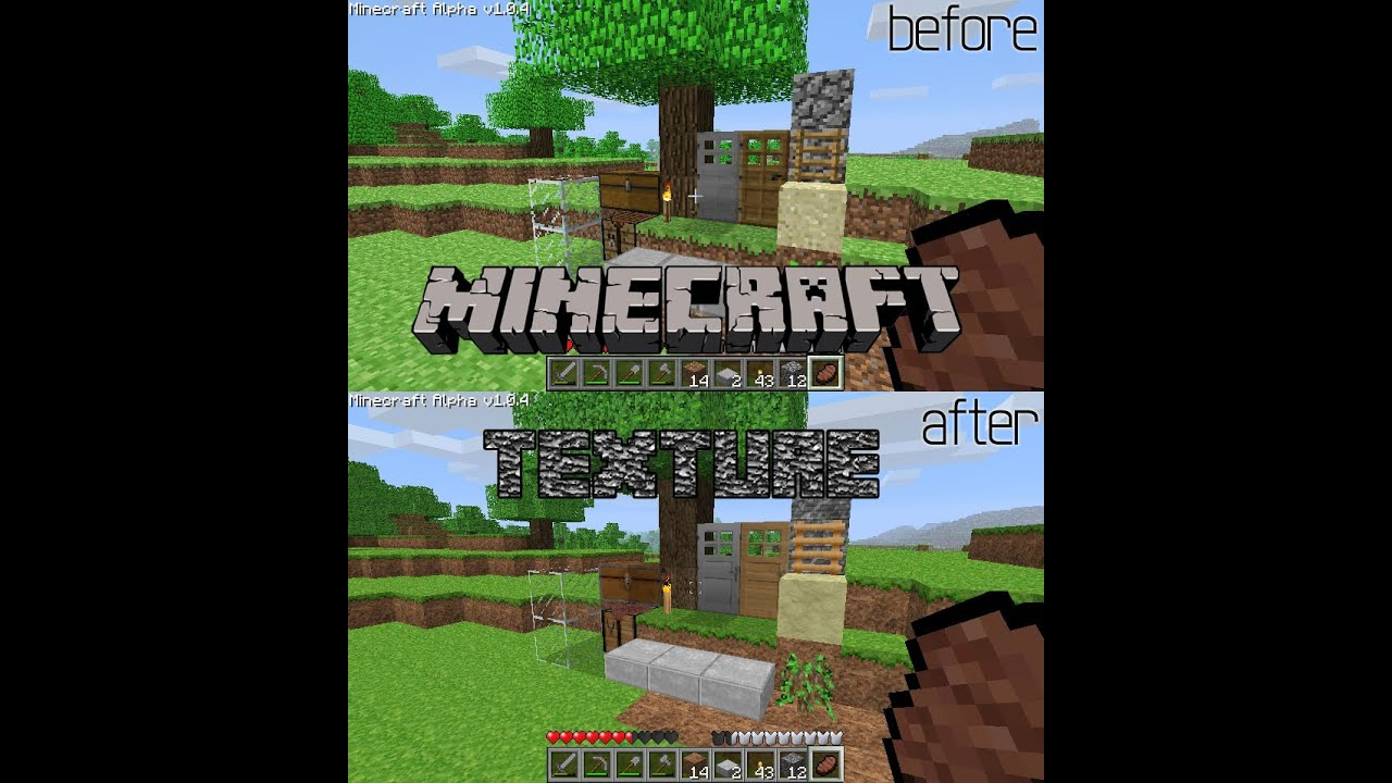 Minecraft Tutorial: Kako instalirati teksture (resource pack) - YouTube