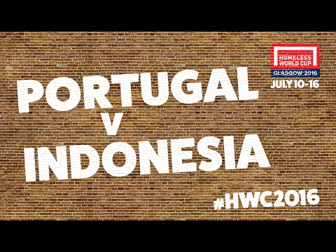 Portugal v Indonesia | Second Stage Group C #HWC2016