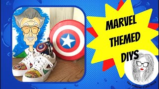 Marvel Themed DIYS | Marvel Collab | The Official Craft Nerd