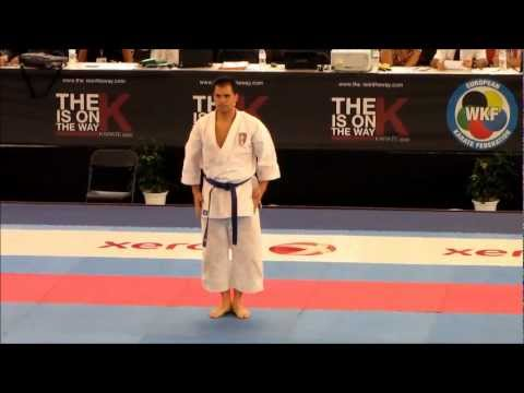 Kata UNSU by Luca Valdesi - FINAL 47th EKF European Karate Championships