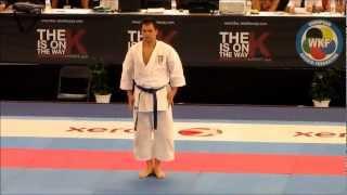 Kata UNSU by Luca Valdesi - FINAL 47th EKF European Karate Championships