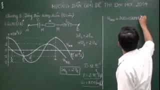 Hướng dẫn giải chi tiết đề thi đại học môn Vật lý khối A, A1 năm 2014 - Mã đề 319
