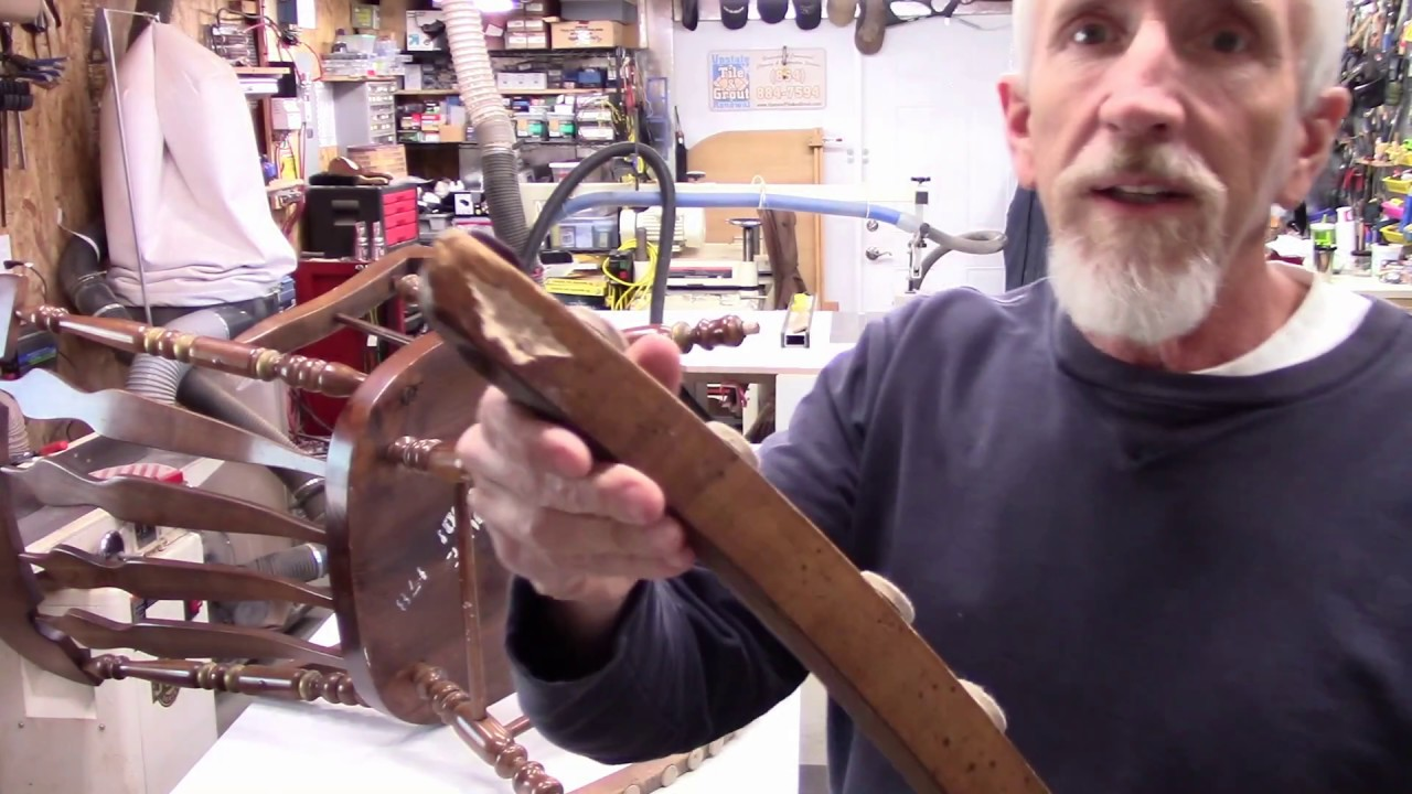how to repair a rocking chair diy replacing a rocker youtube