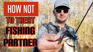 Bad Bass Fishing Etiquette | Little River Buzzbait Smash