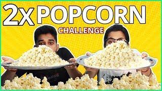 POPCORN EATING CHALLENGE | Popcorn Eating Competition | Food Challenge India