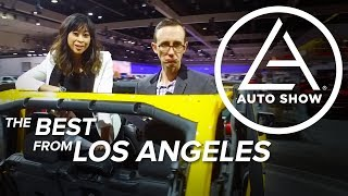 The Best Cars of the 2017 LA Auto Show