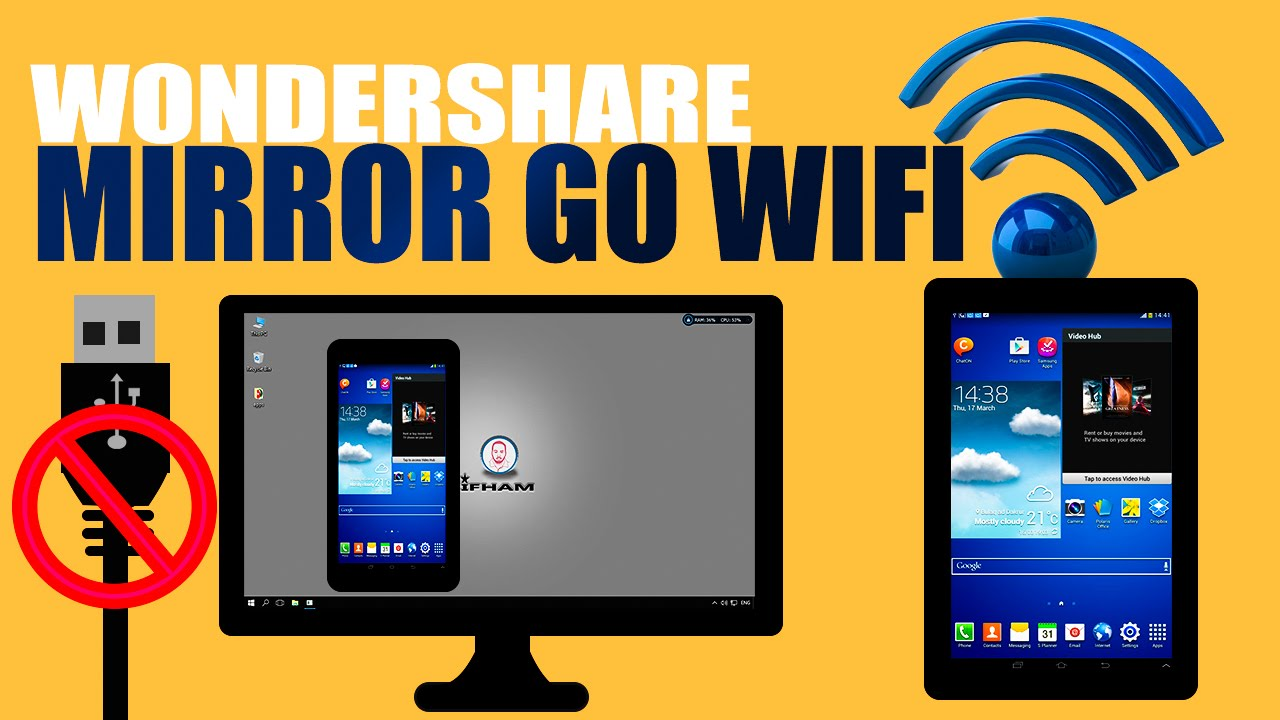 Baro Sida Logu Xiro Wondershare Mirror Go Wifi Android Phone Csh83