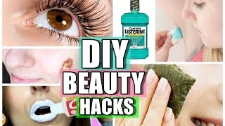 10 SEGRETI DI BELLEZZA FAI DA TE! DIY BEAUTY HACKS