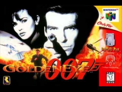 James Bond - Goldeneye Metal Cover
