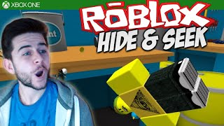 ★ROBLOX HIDE AND SEEK EXTREME! - Guy On A Rampage! Workshop, Bedroom, Store [XBOX ONE]★
