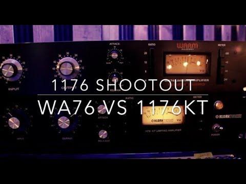 Klark Teknik 1176KT Vs Warm Audio WA76 I Shred Shed