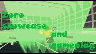 Roblox Anime Cross 2: Zoro Showcase and Gameplay (requested)