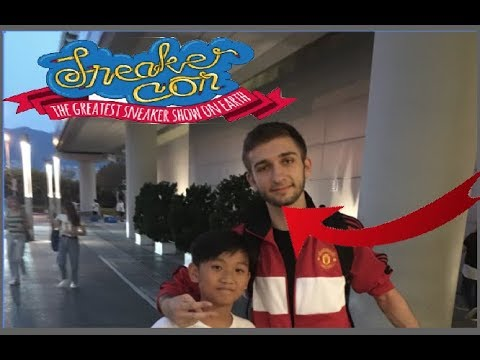 I MET The Real Ray Ray 20 !!!||SNEAKERCON HK VLOG!!!