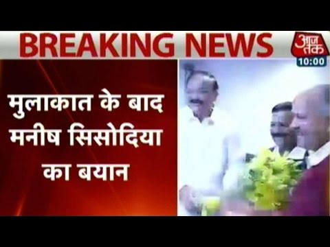 Kejriwal meets Minister of Urban Development to discuss plans for Delhi