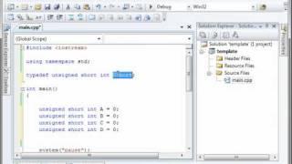 C++ 8 - TypeDef