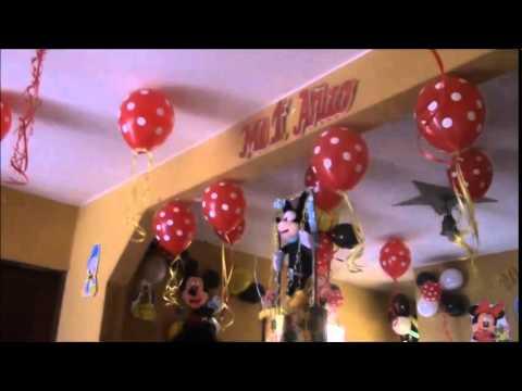 Cumpleaños Mickey Mouse - Decoracion de Globos