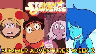 SUMMER OF STEVEN WEEK 2 PREVIEW - Centipeetle, Jasper and More [Steven Universe News]