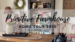 Primitive Farmhouse Home Tour | Inspirational Homes Series 2020 | Episode 3