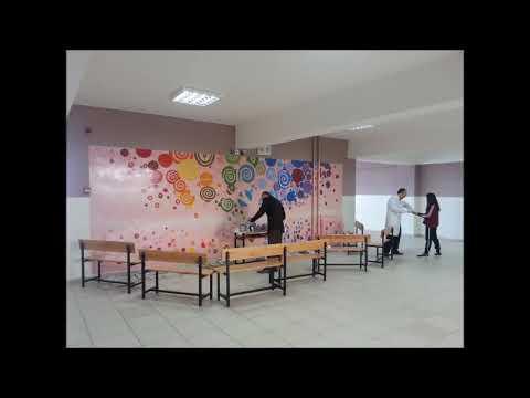Okul Duvarlarını Boyadık Youtube