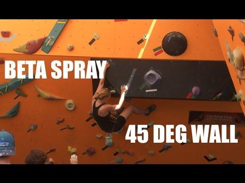 BETA SPRAY 45 DEG Wall - Southern Boulder - Adelaide Bouldering Gym