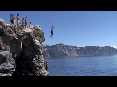 Crater Lake Jumps