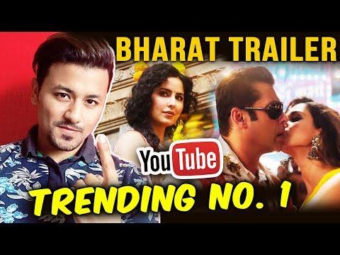 BHARAT TRAILER का धमाका, YOUTUBE पर No. 1 Trending | Salman Khan