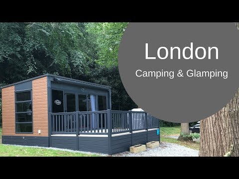 Camping and Glamping in London at Abbey Wood CAMC Site